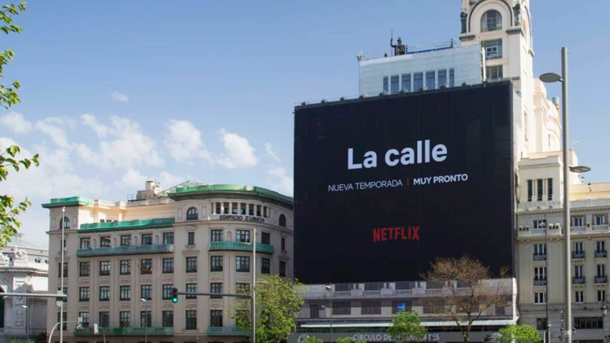 La calle Netflix