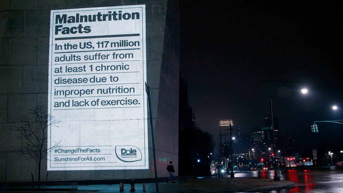 Malnutrition Facts DAVID Dole