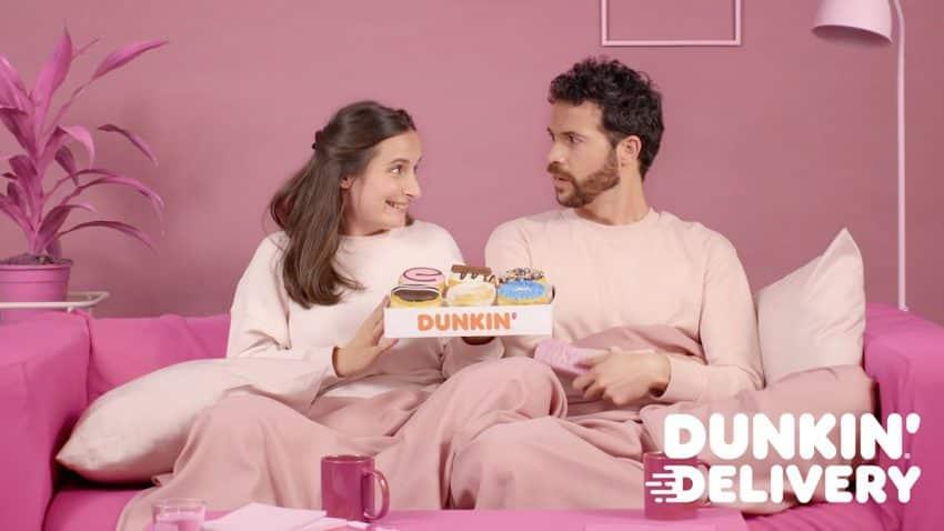 Dunkin' impulsa el servicio de delivery en España