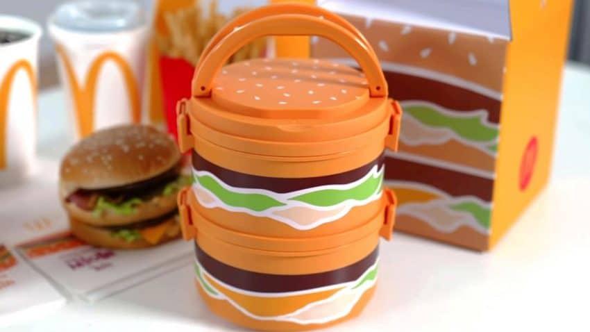 McDonald's lanza un apetitoso táper con forma de Big Mac que te hará la boca agua