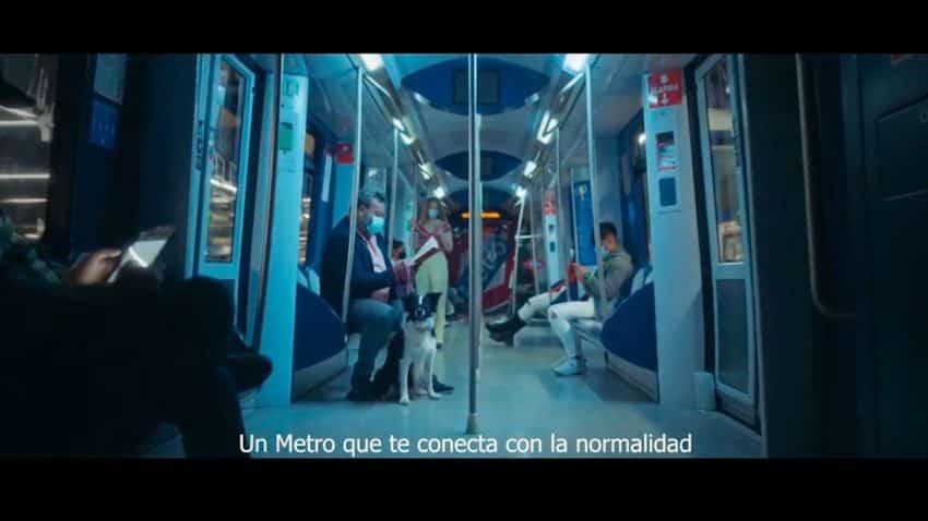 Metro de Madrid lanza un spot para recordar que