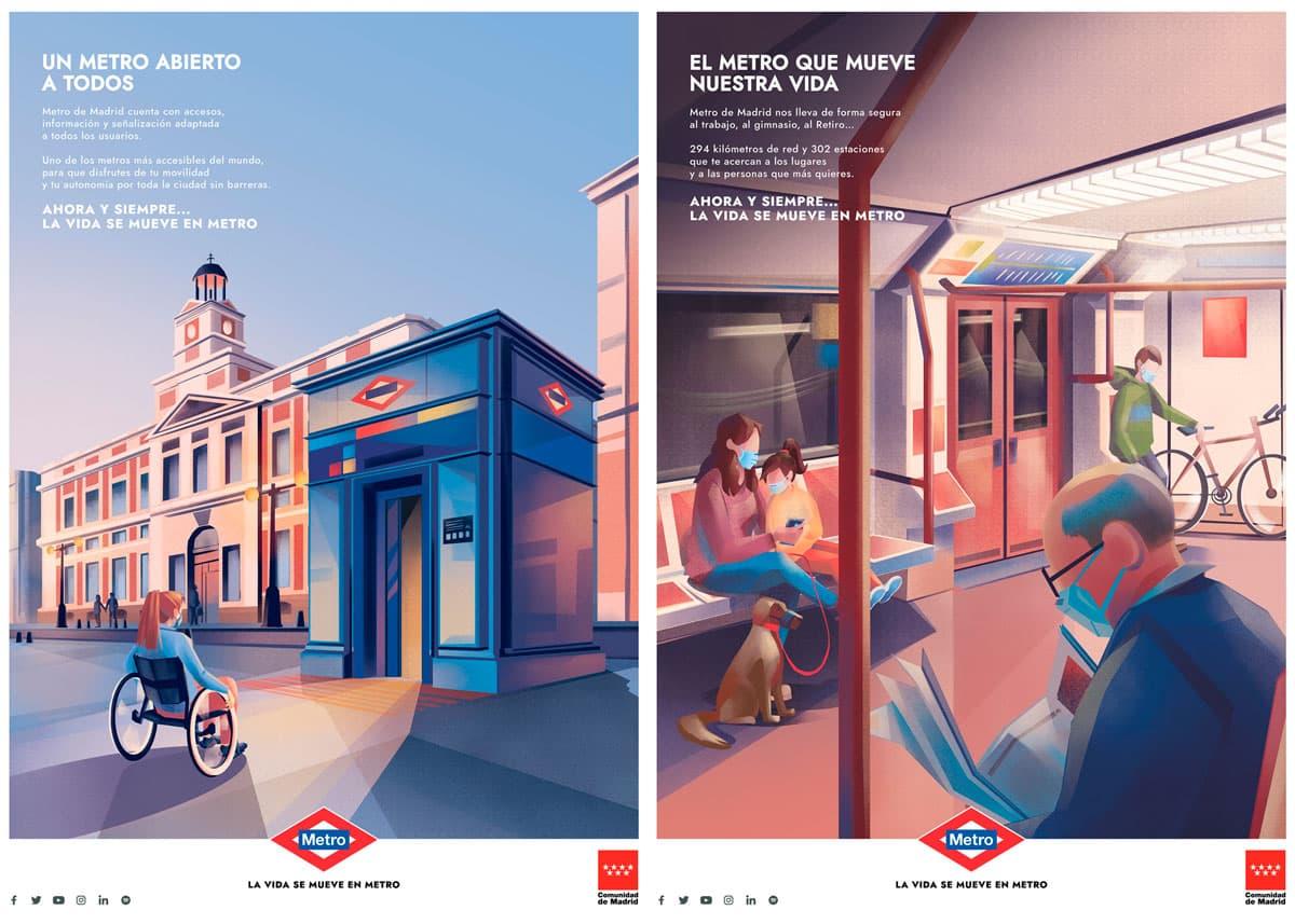 Campaña Metro Madrid