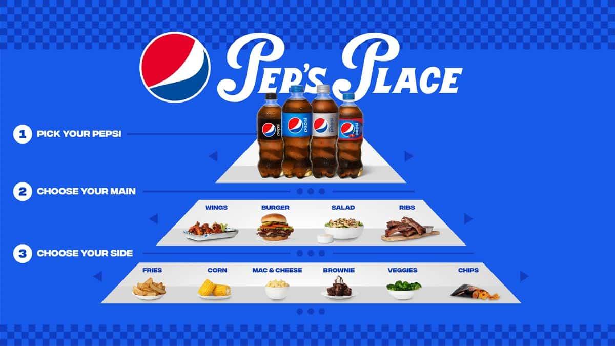 Pep's Place restaurante Pepsi