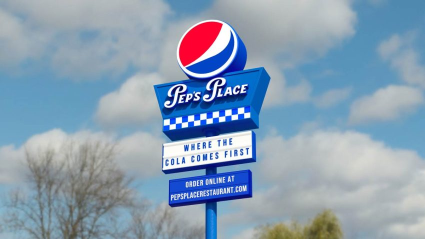 Pepsi estrena campaña y da la vuelta al delivery con su innovador restaurante Pep's Place