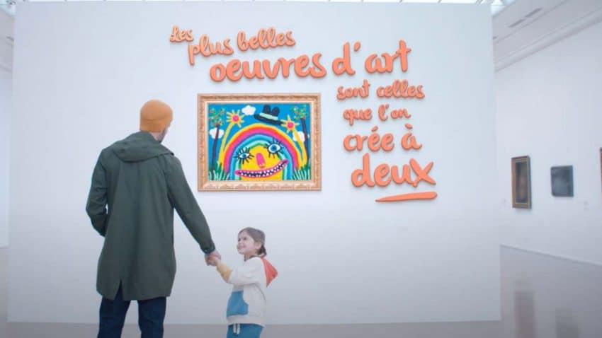 Play-Doh expone cuadros de plastilina en un museo de París por su aniversario