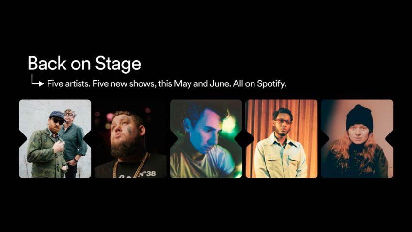 Spotify prepara conciertos virtuales para conectar a los artistas con sus fans