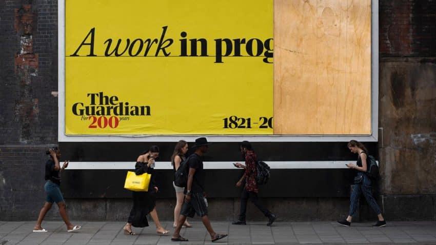 The Guardian celebra su 200º aniversario con una campaña en la que está todo por hacer