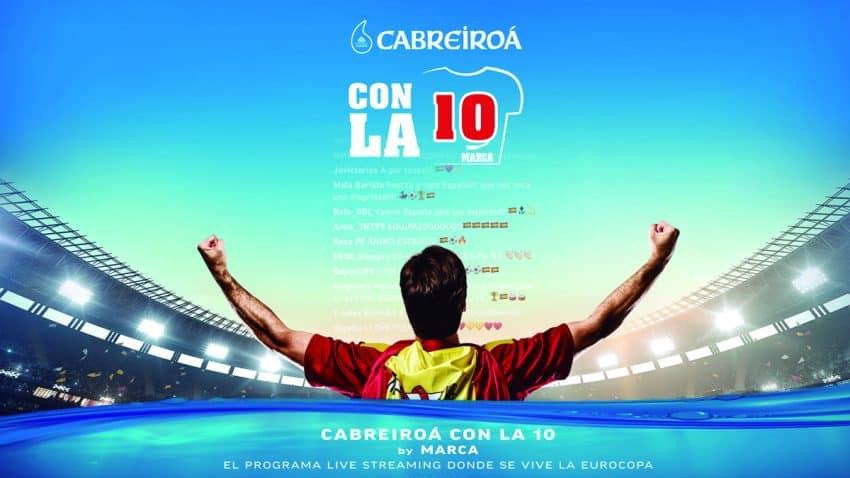 MARCA lanza el programa 'Cabreiroá con la 10' para abordar la Eurocopa