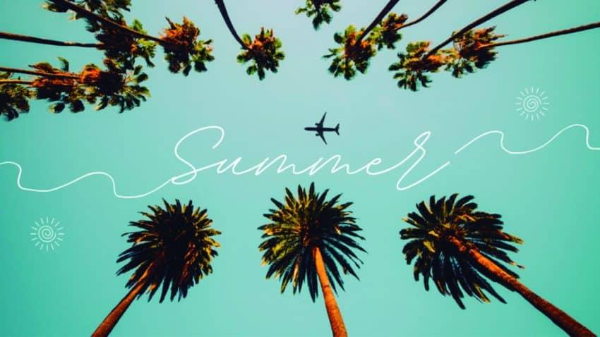 Cómo crear carteles minimalistas para el verano 2021