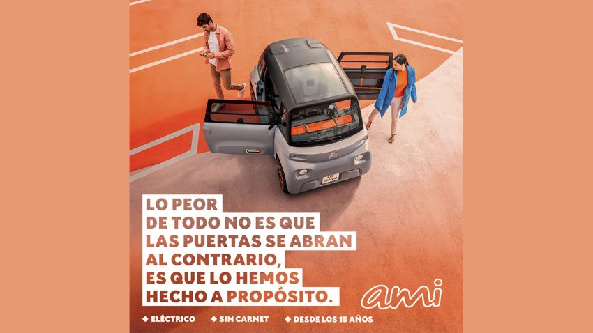 El Citroën Ami se ríe de sí mismo en esta campaña