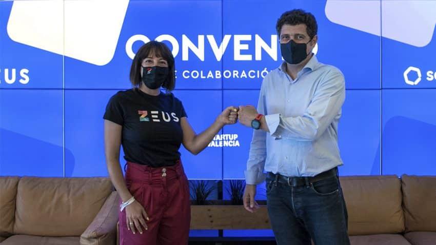 Las tecnológicas Zeus y Sesame colaborarán con Startup Valencia para impulsar la competitividad del ecosistema startup