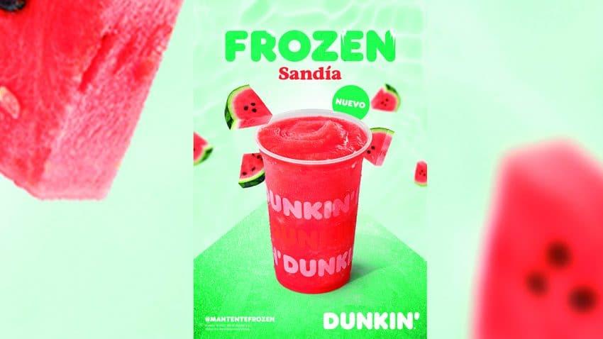 Dunkin' congela el verano con su nueva campaña #MantenteFrozen