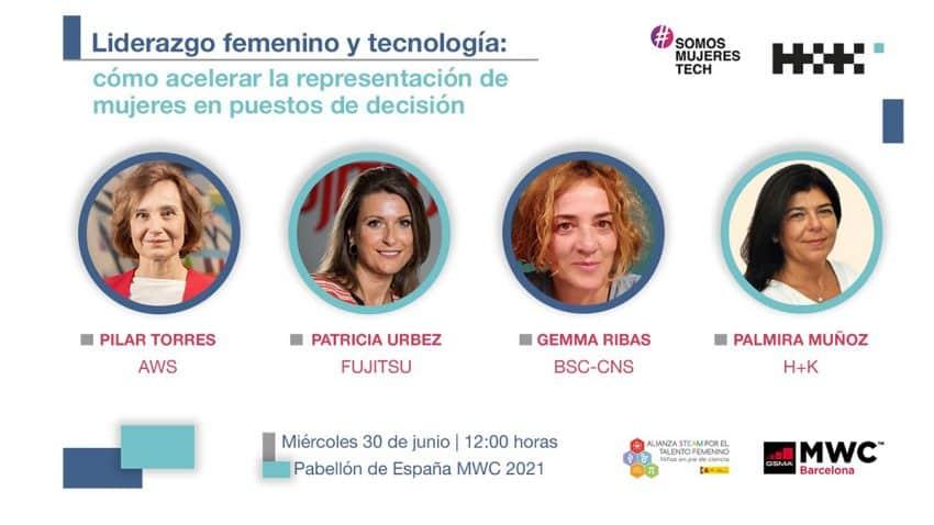 El liderazgo femenino y la tecnología en la agenda del Pabellón de España en el Mobile World Congress 2021