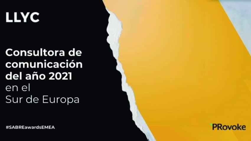 LLYC, mejor consultora de comunicación del año en el Sur de Europa