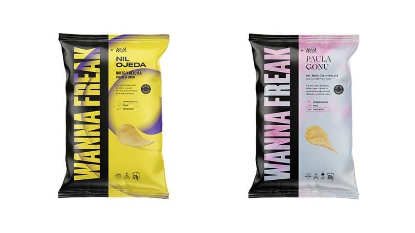 VIZZ y Wanna Freak se unen para lanzar la primera marca de patatas fritas creadas por influencers
