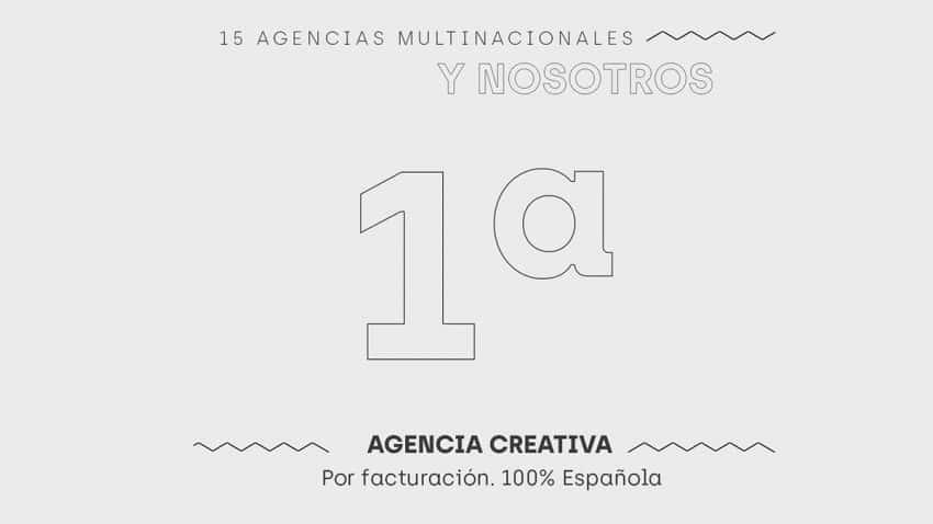 Rk People Group, Primera Agencia Creativa 100% española