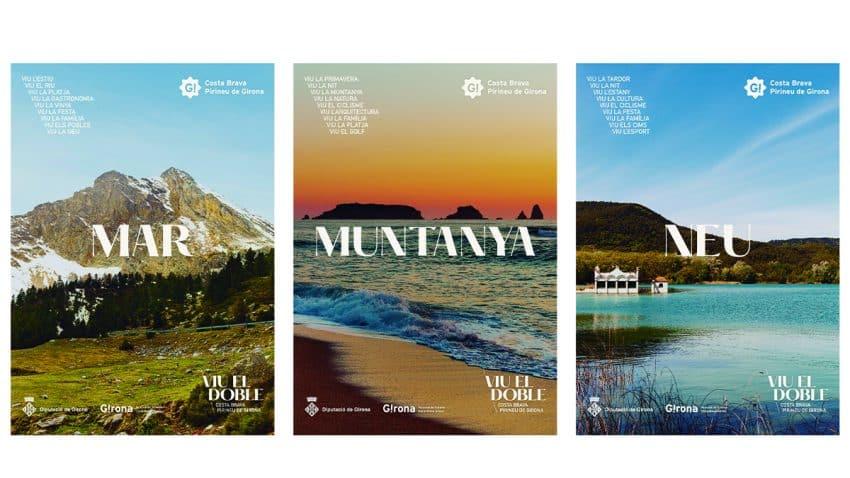 'Vive el doble' con la nueva campaña de Evil Love para el Patronat de Turisme Costa Brava Girona