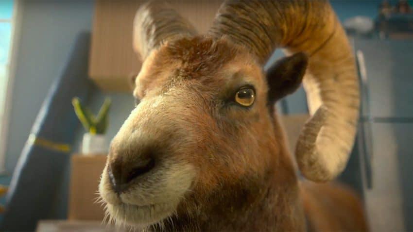 Este anuncio de muesli está como una cabra (venida directamente de los Alpes)