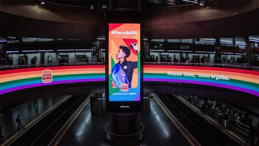 Burger King saca a pasear el Orgullo de sus empleados en esta vibrante campaña brasileña