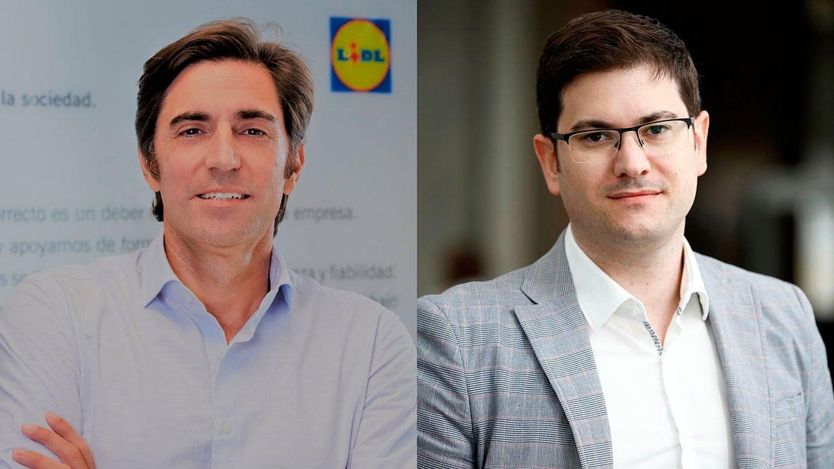 Carlos González-Vilardell y Antonio Alarcón Lidl