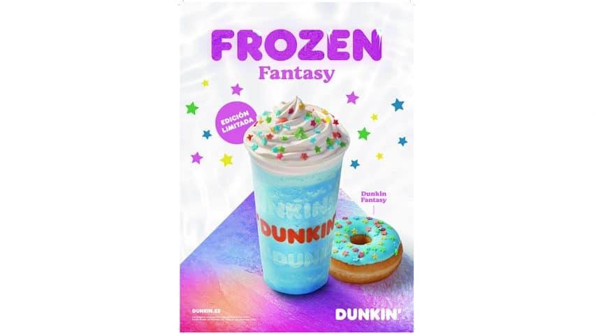 Dunkin' se llena de color con 'Frozen Fantasy'
