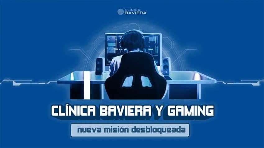 Clínica Baviera se estrena en los eSports con una campaña para concienciar a los gamers sobre su salud visual