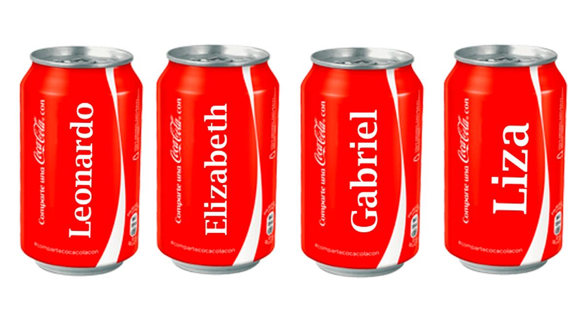 Coca-cola personalizada