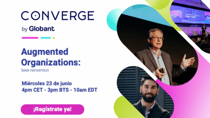 Converge Europe: Globant impulsa hacia el futuro a las organizaciones en su evento insignia