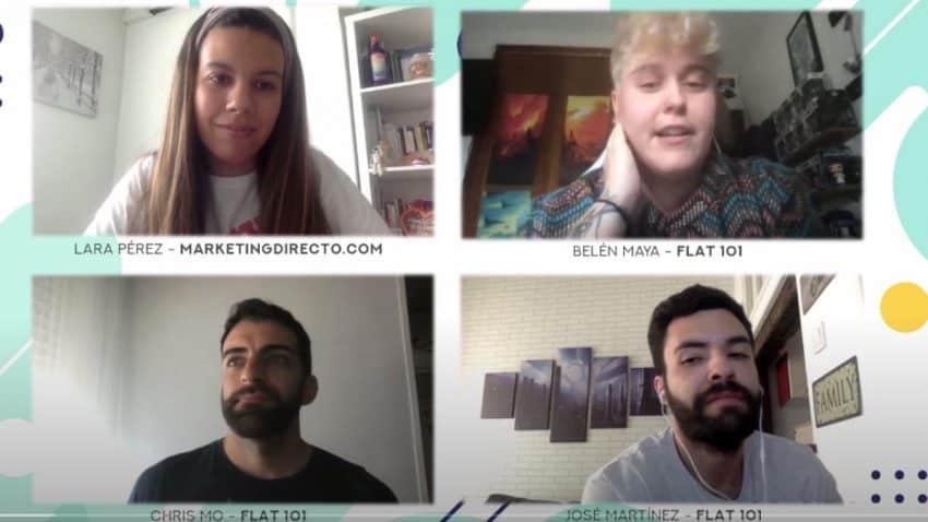 Flat 101: Así es el equipo de una agencia cuyos valores se centran en la diversidad