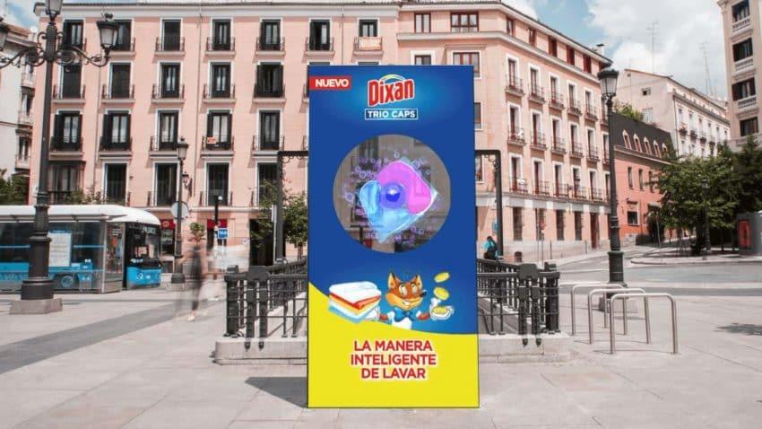 Dixan o cómo hacer campañas publicitarias con hologramas en 3D a pie de calle