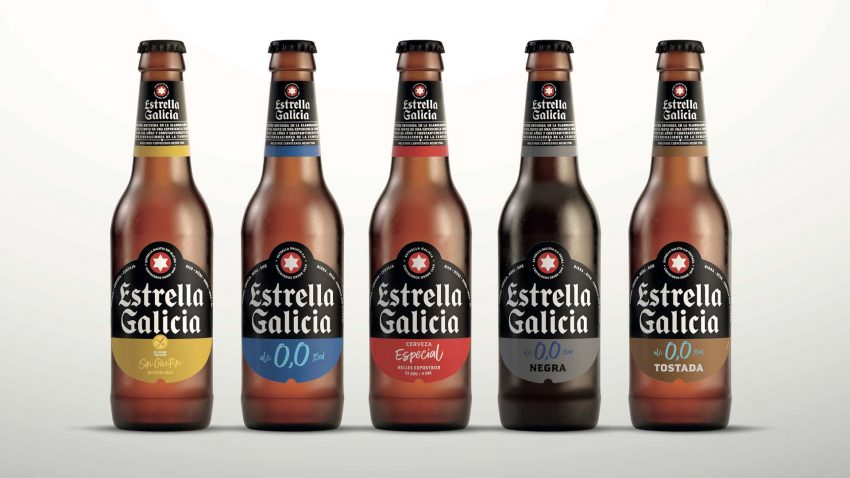 Estrella Galicia renueva su imagen y estrena un packaging más sostenible