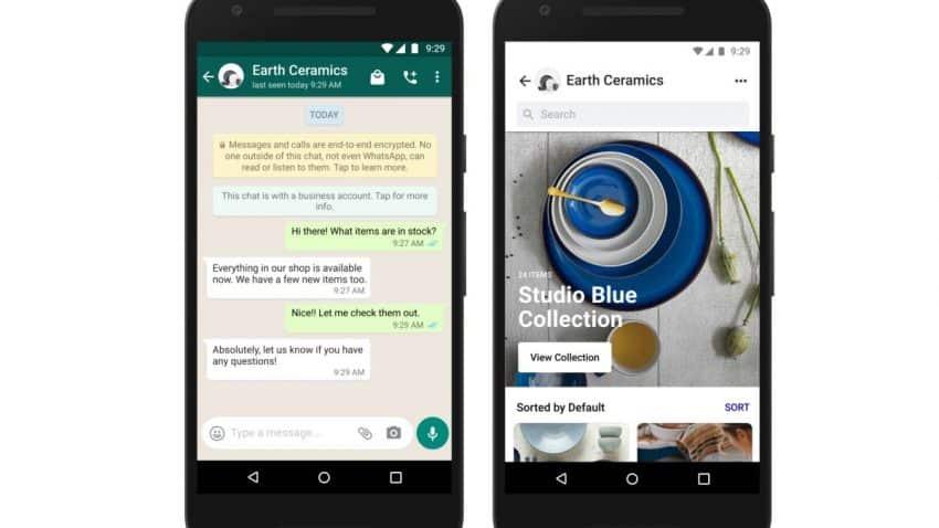 IA y tiendas en WhatsApp: Facebook anuncia nuevas herramientas de comercio