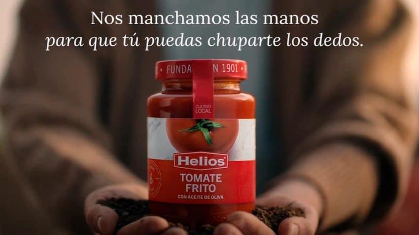 Helios homenajea a los agricultores españoles y al origen 100% local