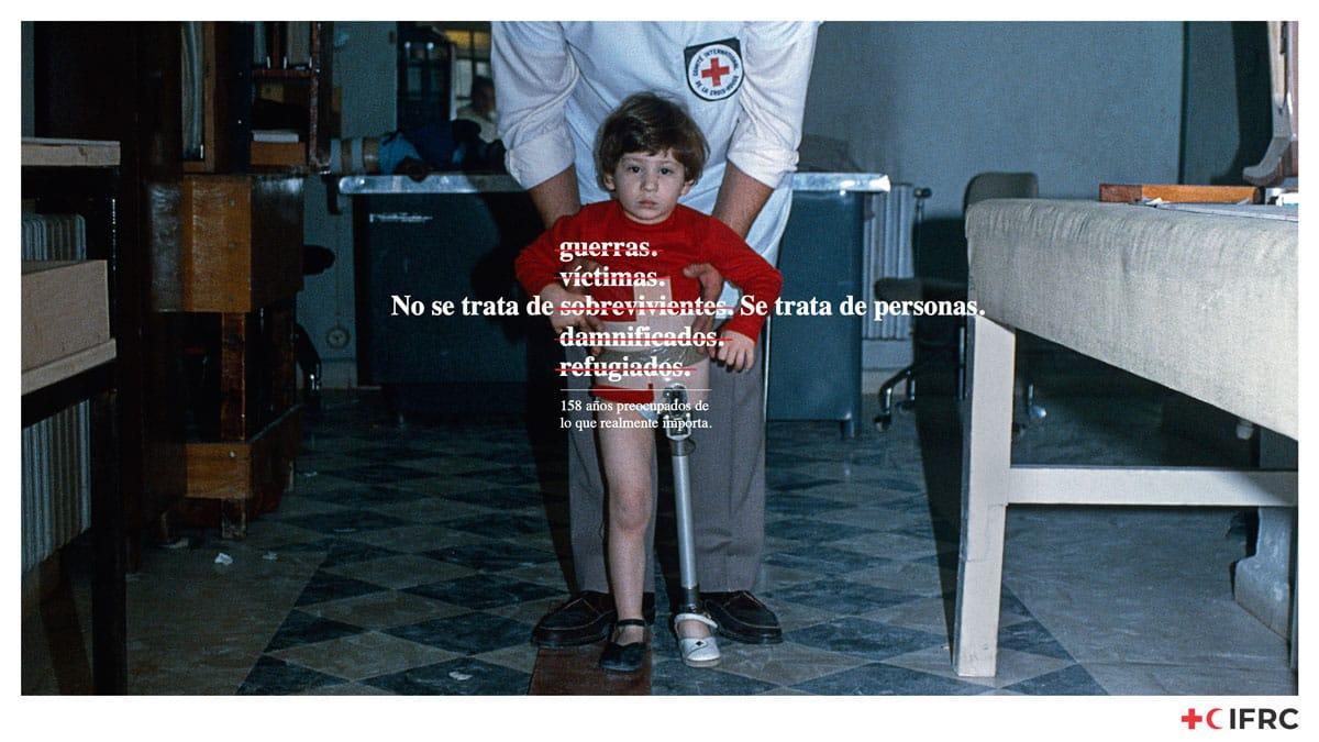 """""""Se trata de personas"""" IFRC"""