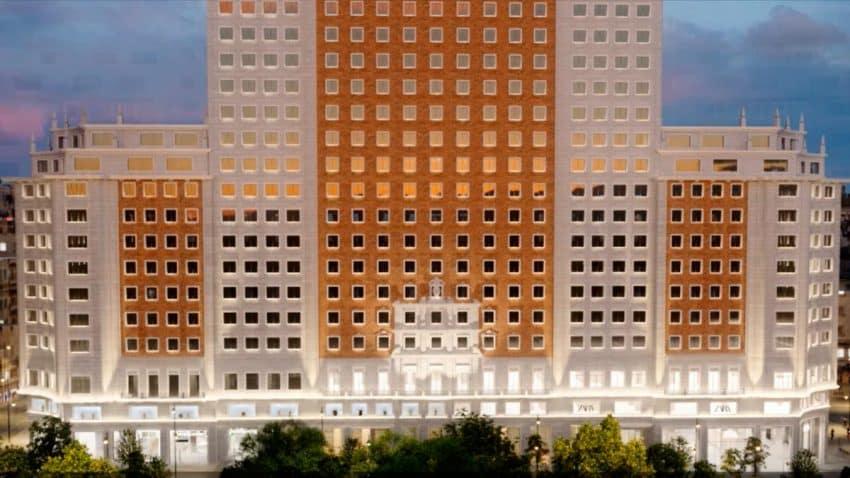 Inditex abrirá una megatienda de Zara en el Edificio España de Madrid