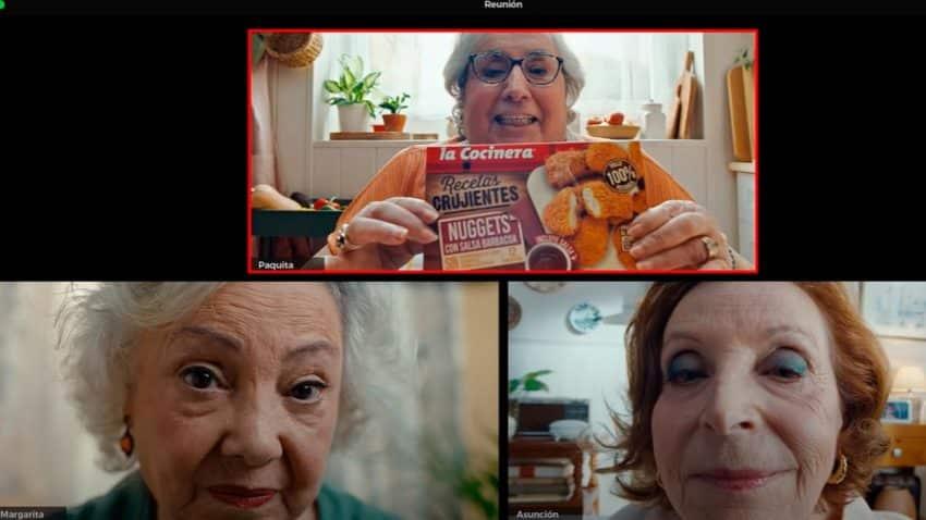 Las abuelas se ponen