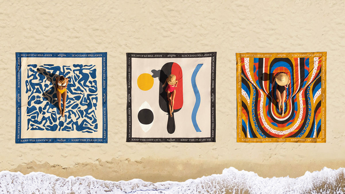 """""""Magnum XXL towel collection"""" - Magnum - LOLA MullenLowe Premios Nacionales de Creatividad 2021"""