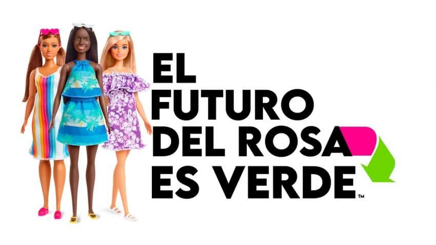 Mattel lanza una colección de Barbie fabricada con plástico reciclado procedente del océano