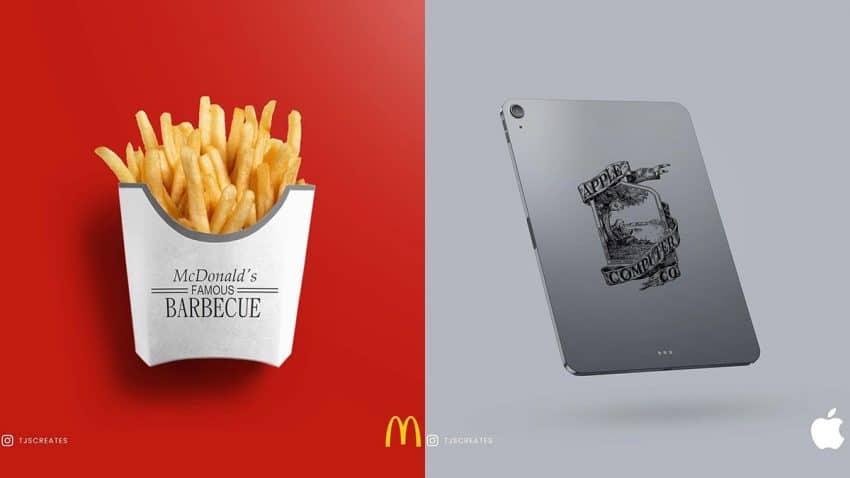 ¿Y si estas 6 celebérrimas marcas hubiesen jurado lealtad eterna a sus logos originales?
