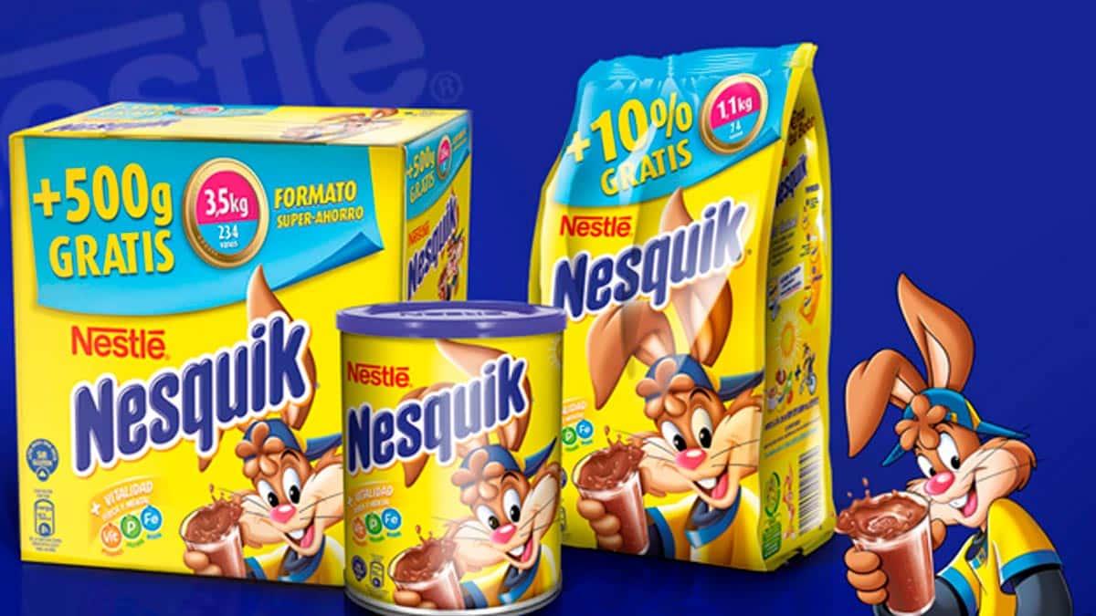 Productos Nesquik