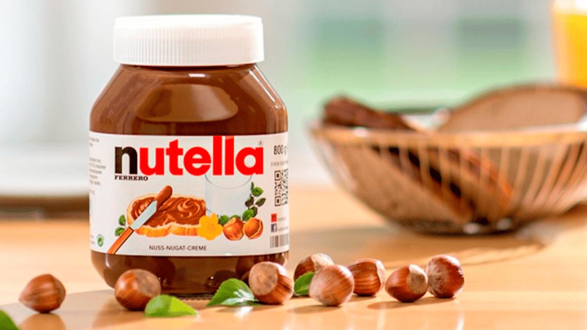 Bote de Nutella