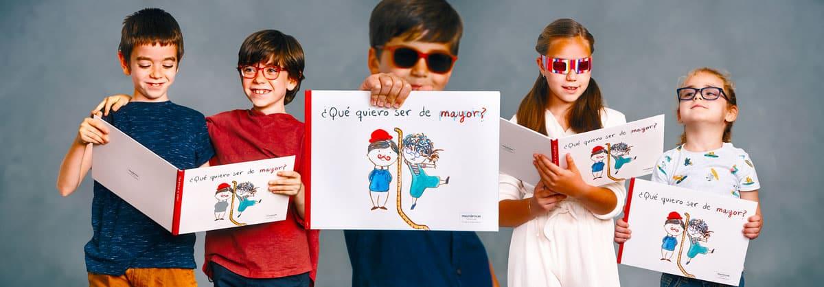 Libro ¿Qué quieres ser de pequeño? de Fundación Multiópticas