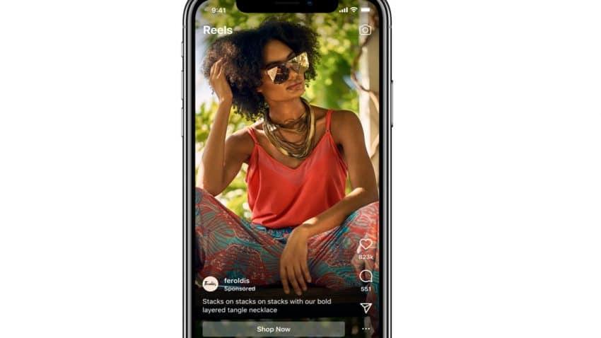 Instagram anuncia la llegada de los anuncios a los Reels