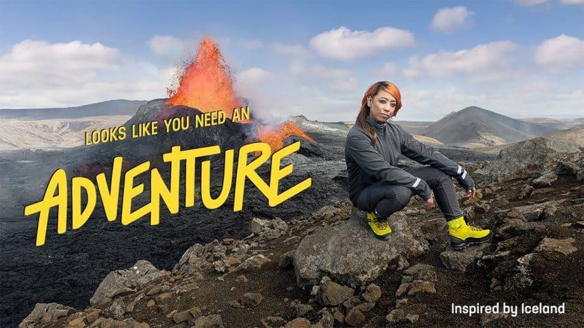 Esta marchosa campaña de Islandia transforma tu raído pantalón de chándal en botas de escalada