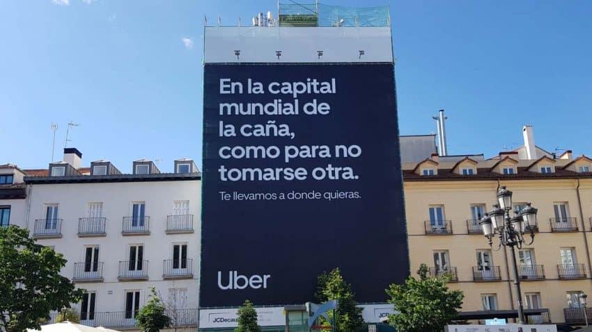 Uber nos lleva a donde queramos en una campaña muy