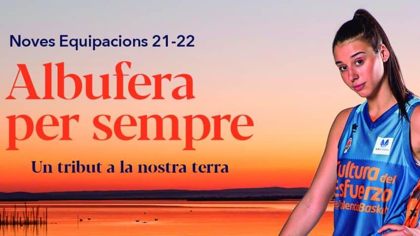 La Albufera de València inspira las nuevas equipaciones del Valencia Basket