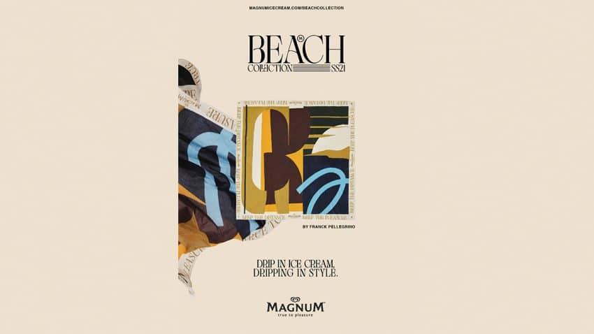 Magnum marca el inicio del verano, lleno de placer, con su exclusiva colección de playa