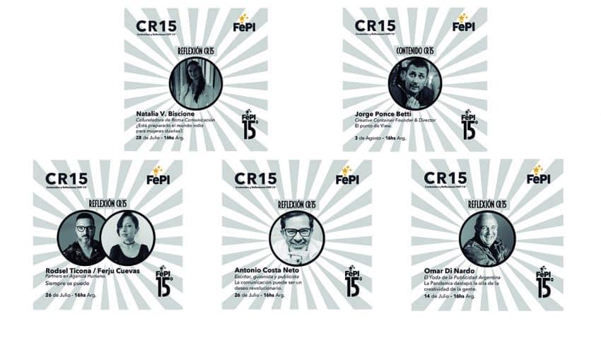 Comienza el Ciclo CR15 - Contenidos y Reflexiones del FePI Online 2021