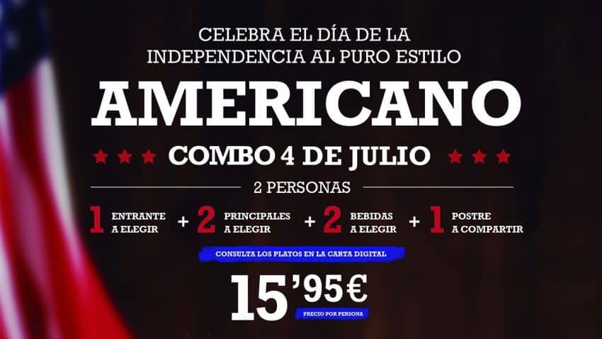 Tony Roma´s celebra el Día de la Independencia Americana