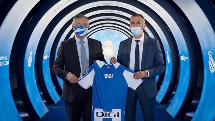 DIGI se convierte en patrocinador oficial del RCD Espanyol